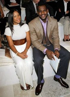 eb65971d0c5d While in NYC doing the Late Show and hosting a charity event for The LeBron  James Family Foundation. Â LeBron James and girlfriend Savannah Brinson  also ...