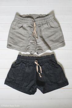 Linen Parkside Shorts