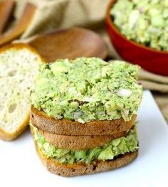 Avocado Tuna Salad - so flipping delicious. Omitted walnuts, onions, apples, and celery. Used 1 can tuna and 100 cal packet of guacamole instead of avocado. Halved dill.