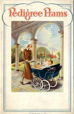Catalogue, Abbatt Toys, Paul and Marjorie Abbatt Ltd. MoC The Paul and Marjorie Abbatt Vintage Stroller, Vintage Pram, Vintage Love, Retro Advertising, Vintage Advertisements, Vintage Ads, Silver Cross Prams, Baby Sketch, Museum Of Childhood