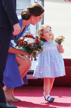 Everyone Missed Princess Charlotte's Curtsy in Warsaw, Except the Entire Internet