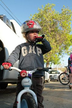 An aspiring athlete :) Riding Helmets, Baby Strollers, Athlete, Highlights, Bike, Shopping, Fashion, Baby Prams, Bicycle Kick