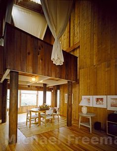 interior shot....Sea Ranch Condos ~Charles Moore