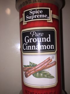4 tablespoons of CINNAMON Bagel, Cinnamon, French Toast, Spices, Pure Products, Tea, Drinks, Bottle, Food