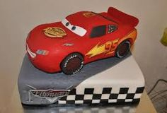 Image result for how to make a mcqueen cake