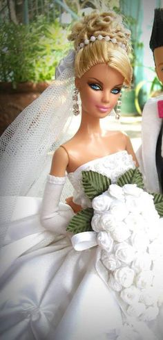 Beautiful Bride Barbie