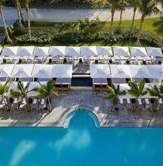 Pool view - St. Regis Bar Harbour Resort #svnlife #miami