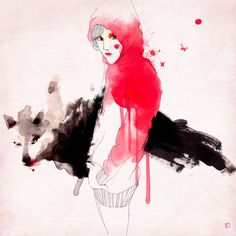 Little Red Ridding Hood. Conrad Roset