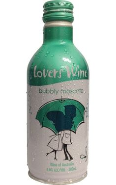 Lovers Wine Bubbly Moscato NV Australia 300 ml - 24 Bottles Sparkling Wine, Wines, Bottles, Lovers, Australia, How To Make