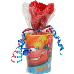 Amazon.com: DISNEY CARS Party Supplies Pre-Filled Goodie Bag: Toys & Games