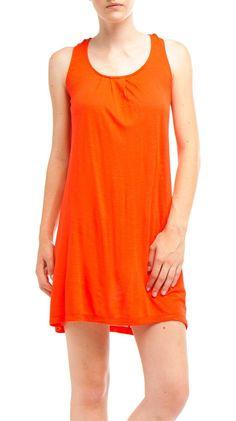 Tangerine day dress