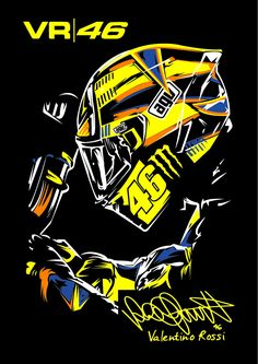 Discover recipes, home ideas, style inspiration and other ideas to try. Valentino Rossi Logo, Motogp Valentino Rossi, Motorcycle Art, Bike Art, Motorcycle Stickers, Ducati, The Doctor Blake Mysteries, Velentino Rossi, Vale Rossi