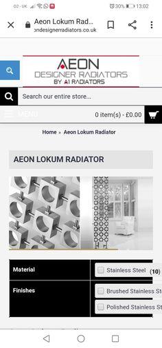 Radiators, It Is Finished, Design, Radiant Heaters
