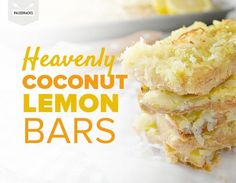 Gluten free recipe - Grain free - Paleo - Sugar free - Dive into the sweet and fresh flavors of these dessert bars.