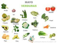 #Verduras Mes de #Mayo : #ConsumoResponsable #ConsumoLocal