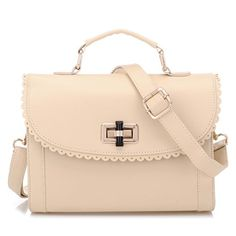 Coofit® Ivory Girl's Sweet Fashion Vintage Contrast Color PU Shoulder Bag Handbag Coofit http://www.amazon.com/dp/B00SKSFO14/ref=cm_sw_r_pi_dp_IDICwb0KNZTQW