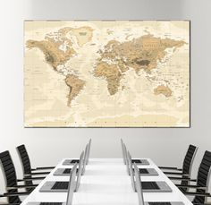 Large gold world map wall art with countries names canvas print large detailed world map wall art with countries names canvas print extra large world map home gumiabroncs Image collections