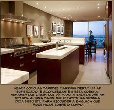 cozinha moderna tampo claro