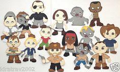 Made to Order Set of 15 Lot Scrapbook Paper Piecings Walking Dead by Kira | eBay