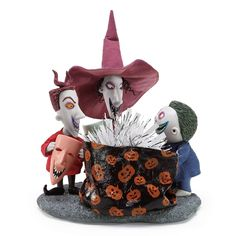 """Dept 56 Possible Dreams Nightmare Before Christmas Sandy Claws Train Lighted 10"""""""