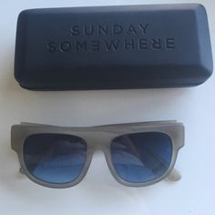 Sunday Somewhere Sunglasses Good condition. Some normal wear, can be seen only close up. See last picture Sunday Somewhere Accessories Sunglasses