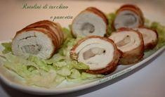 Rotolini di Tacchino e Pancetta - Menta e Peperoncino