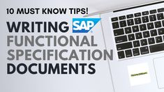 10 Tips plus an overview on WRICEF / WRICEF-A. Must know tips for writing SAP Functional Specifications! #SAPFunctionalSpecifications #SAPFSTips Writing Tips, Templates, Videos, Youtube, Models, Stenciling, Stencils, Video Clip, Youtube Movies