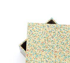 Kisten & Boxen - Box,Aufbewahrung,XL-Schachtel,Carta Varese,Kiste - ein Designerstück von ars-unica bei DaWanda