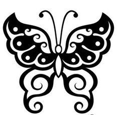 Kelebek Desen Çizimleri