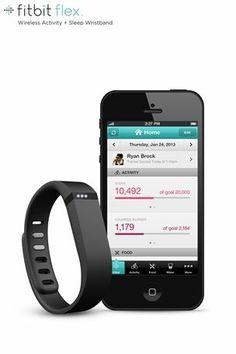Fitbit Flex Wireless Activity + Sleep Wristband. So getting this!