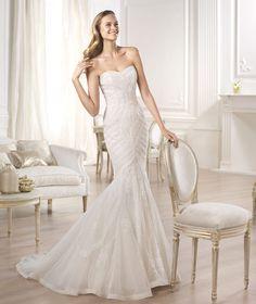 Nouvelle robe publiée!  Pronovias 2015 mod. OMBERA. Pour seulement 1000€! Economisez 47%! http://www.weddalia.com/fr/boutique-vendre-robe-de-mariee/pronovias-2015-mod-ombera/ #RobesDeMariée www.weddalia.com/fr