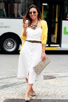 Small Fashion Diary: amarelo, um poema, um sorvete