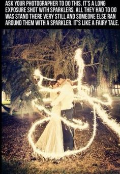 Wedding sparklers - Dream Wedding Photos I want to do an engagement photo like this then a replica photo on our wedding day That way it will look like we transformed like in Princess and the Frog Cute Wedding Ideas, Wedding Goals, Our Wedding Day, Wedding Pictures, Perfect Wedding, Dream Wedding, Trendy Wedding, Wedding Themes, Wedding Ceremony