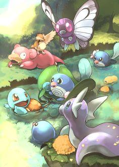 River Pokemon (http://www.pixiv.net/member_illust.php?mode=medium_id=29301283)