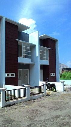 Rumah modern minimalist 2 lantai | 370juta