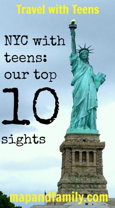 NYC with teens - top 10 sights