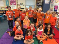 Class colors for Spirit Week with room1023kiddos @agTEACH302!