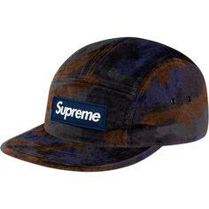 Supreme Velvet Camo Camp  Cap  5panel Supreme Accessories 502a6d99a1f6