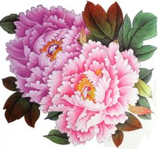 """SPESTYLE waterproof non-toxic temporary tattoo stickersExtra large size pink peony flower temporary tattoos 8.66""""x8.07"""" Inches. Easy to put on and stay for more than one week;. Transfers completely - with no loss of color or cracks, looks as bright on skin as it looked on paper before applying;. Can be remove easily;. High quality fashionable temporary tattoos that look real;."""
