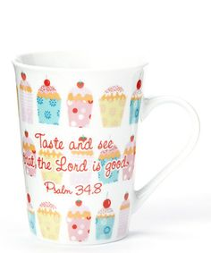 Another great find on #zulily! 'Taste and See' 8-Oz. Mug by Boston Warehouse #zulilyfinds