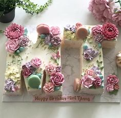 Buttercream Cake Designs, Cake Icing, Eat Cake, Alphabet Cake, Cake Lettering, Girls Tea Party, Number Cakes, Strawberry Cakes, Specialty Cakes