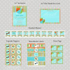 Summer Pool Party – Baby Shower {Vendor Collaboration}
