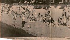 The beach in Cd'a Coeur D'alene, Idaho, Vintage World Maps, Live, Beach, Seaside