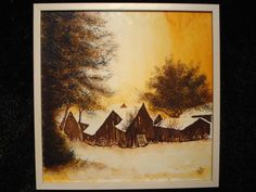 Abends... Painting, Art, Art Background, Painting Art, Kunst, Paintings, Performing Arts, Painted Canvas, Drawings