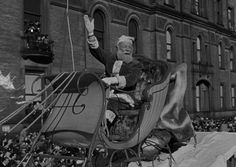 Miracle on 34th St. | The Thanksgiving parade scenes were filmed during the actual Macy's parade in 1946; the film was released in June of 1947.