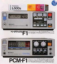 Sony SL-F1 & PCM-F1 (1981)
