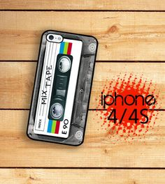 MixTape  / Hard Case For iPhone 4 and iPhone by TheCuriousCaseLLC, $16.99