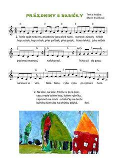 Kids Songs, Sheet Music, Preschool, Nursery Songs, Kid Garden, Kindergarten, Music Sheets, Preschools, Kindergarten Center Management