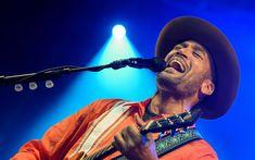Download wallpapers Ben Harper, American singer, portrait, concert, 4k, instrumentalist