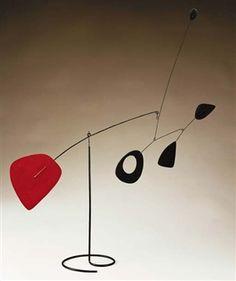 Red Racket By Alexander Calder